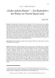 In ähnlicher Art beurteilte Heinrich Eduard Jacob ... - fflch - USP