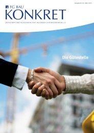 März 2013 - Fachgemeinschaft Bau Berlin und Brandenburg eV