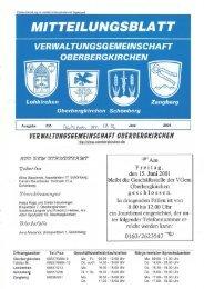 verwal tungsgemeinschaft oberbergkirchen - Freiwillige Feuerwehr ...