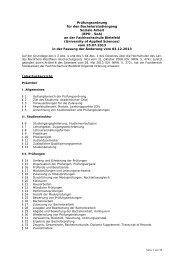 Soziale Arbeit - Fachhochschule Bielefeld