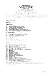 Pädagogik der Kindheit - Fachhochschule Bielefeld