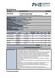 Modulkatalog BFO2.08 Tierökologie/Jagd BA