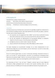 Erfahrungsbericht Ljubljana Slowenien