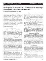 aci materials journal technical paper - Federal Highway ...