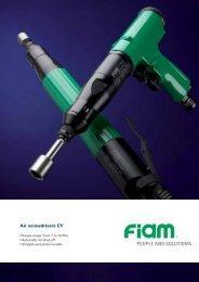 Air screwdrivers CY - Fiam