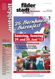 Amtsblatt KW 26 - Stadt Filderstadt