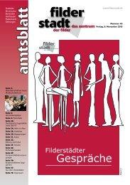 Amtsblatt KW 45.pdf - Stadt Filderstadt