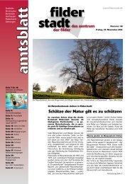 Amtsblatt KW 48 - Stadt Filderstadt
