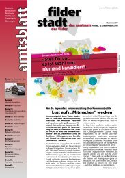 Amtsblatt KW 37.pdf - Stadt Filderstadt