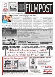 Ausgabe 46 vom 13. November 2013 - auf filmpost.de