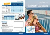 Fahrplan und Preise_Rostock-Helsinki - Finnlines
