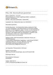 POL-VB: Kleinkraftrad gestohlen - Firmendb
