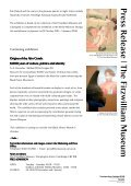 Download press release - The Fitzwilliam Museum - University of ... - Page 2