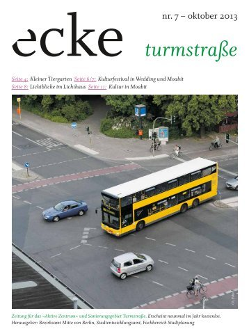 ecke turmstraße - Fixpunkt eV