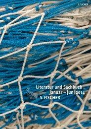 Literatur und Sachbuch Januar – Juni 2014 - S. Fischer Verlag