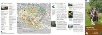 """Broschüre """"Unterwegs zu Pferd im Naturpark"""" (PDF, 1,5 MB)"""