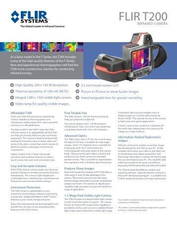 FLIR T200 - FLIR Systems