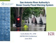 SARA's Bexar County Flood Warning System