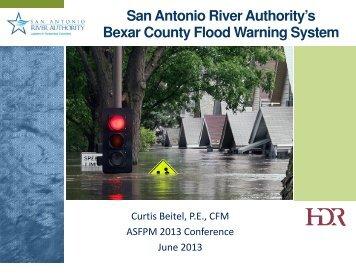 SARA's Bexar County Flood Warning System