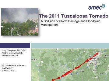 The 2011 Tuscaloosa Tornado - The Association of State Floodplain ...