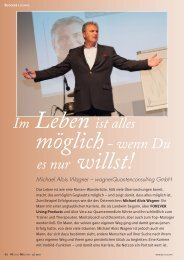 Michael Alois Wagner - Forever Living Products Germany