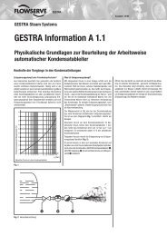 GESTRA Information A 1.1