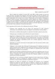 Rabat, vendredi 26 novembre 2007
