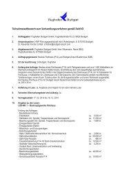 Teilnahmewettbewerb zum Verhandlungsverfahren gemäß SektVO