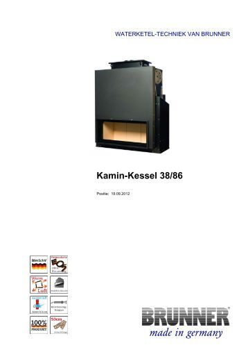 kamin kessel tunnel 45 101 liftdeur easy lift brunner. Black Bedroom Furniture Sets. Home Design Ideas