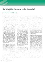 Senioren Festspielregelung nach §11 SpO/WFLV - FLVW Paderborn