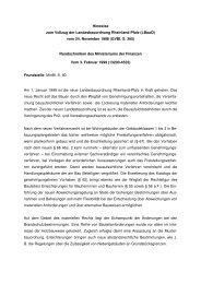 Hinweise zum Vollzug der Landesbauordnung Rheinland-Pfalz ...