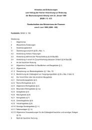 Hinweise und Erläuterungen zum Vollzug der Vierten Verordnung ...