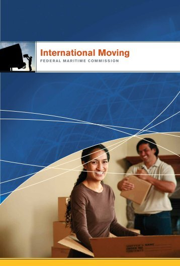International Moving - Federal Maritime Commission