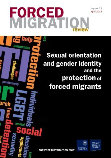 FMR 42 full issue pdf - Forced Migration Review