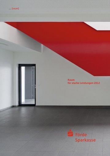 Leistungsbericht 2012 (PDF) - Förde Sparkasse