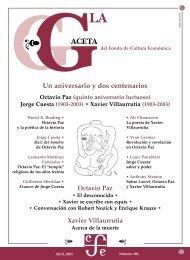 La Gaceta del FCE, abril de 2003 - Fondo de Cultura Económica
