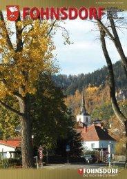 BERICHTE FOLGE 169 September 2006 - Gemeinde Fohnsdorf