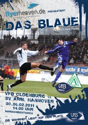 Arminia Hannover - VfB Oldenburg