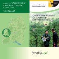 kompetenter partner für wald und forstwirtschaft - ForstBW
