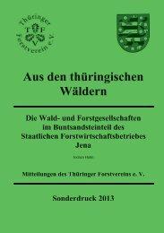 Sonderdruck von 2013 - Deutscher Forstverein