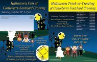 Halloween Trick-or-Treating Halloween Fun at - Forsyth County ...