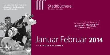 Januar Februar 2014 - Frankfurt am Main
