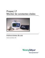 Instrucciones de uso, Propaq LT Monitor de constantes vitales