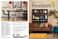 Product Directory 2013 - Freedom Furniture