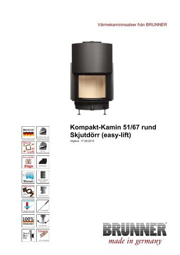 made in germany - Brunner