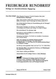 Ökumenische Theologie und Judentum. Zur Nichtexistenz ... - FreiDok