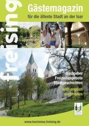 für die älteste Stadt an der Isar - Stadt Freising