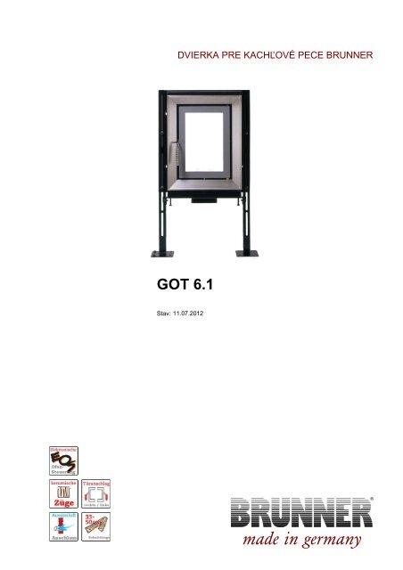GOT 6.1 made in germany - Brunner