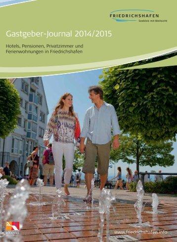 Gastgeber-Journal 2014/2015 - Friedrichshafen