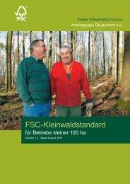 FSC Kleinwald-Standard PDF, Size: 594,52 KB ... - FSC Deutschland
